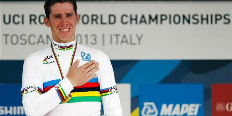 Cyclisme: le Portugais Rui Costa sacré champion du monde