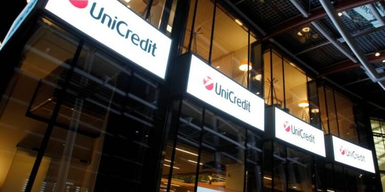 Accord à UniCredit pour la suppression de 2.400 emplois