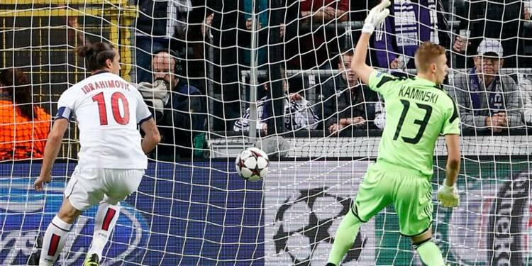 Ligue des champions: le PSG écrase Anderlecht 5-0