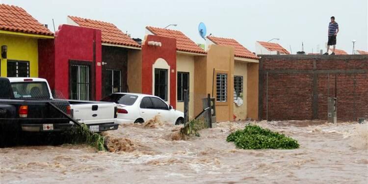 Le nord-ouest du Mexique touché à son tour par la tempête Manuel