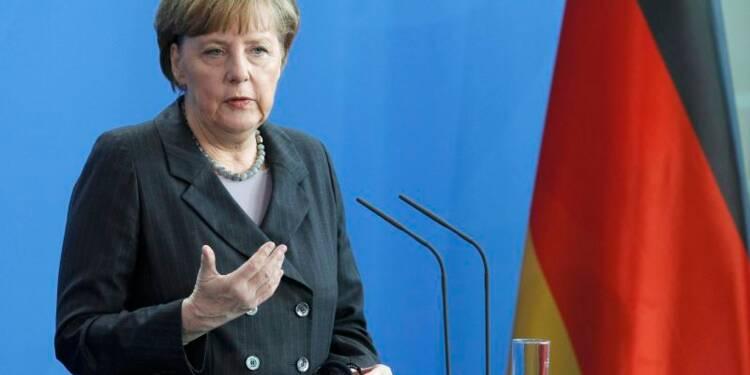 Ferme mise en garde ferme d'Angela Merkel à Moscou sur l'Ukraine