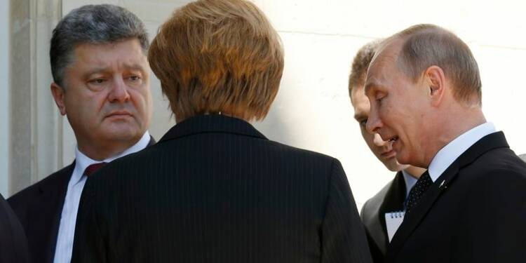 Poutine et Porochenko appellent à l'arrêt du conflit en Ukraine