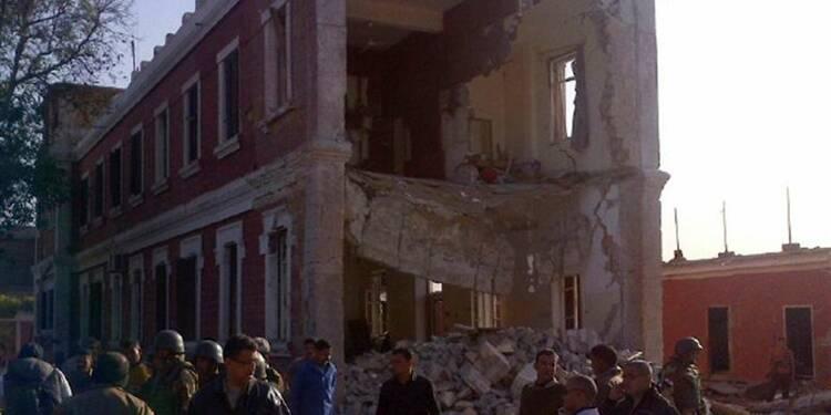 Une bombe vise un bâtiment du renseignement égyptien, 4 blessés