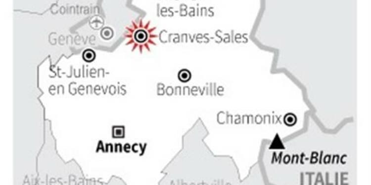 Deux morts dans le crash d'un jet en Haute-Savoie
