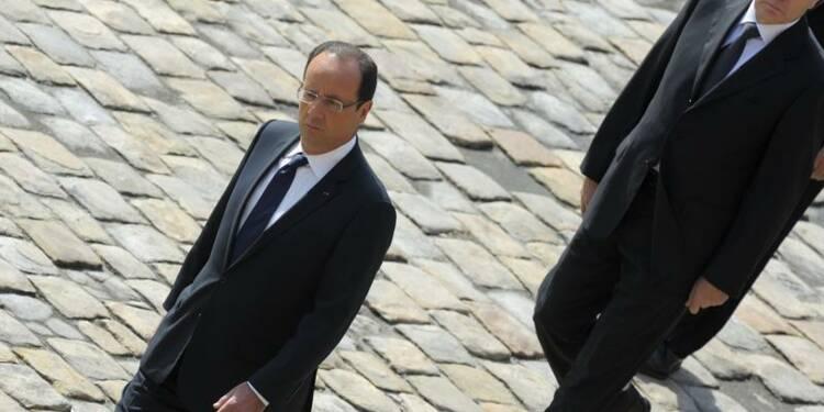 Nouveau record d'impopularité pour Hollande et Ayrault, selon CSA