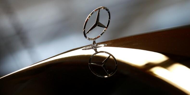Bon trimestre pour Daimler grâce à Mercedes-Benz