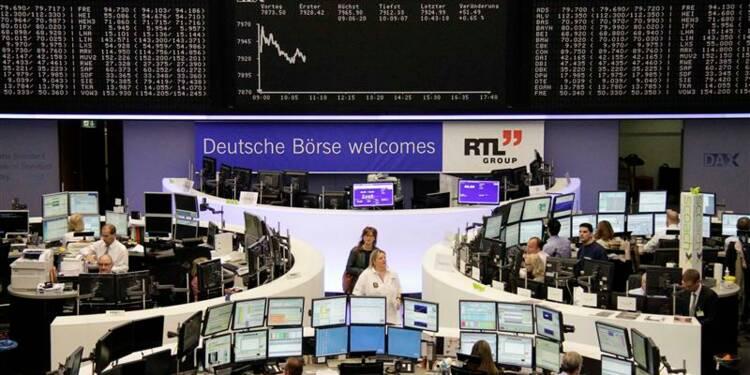 Les marchés européens en ordre dispersé à mi-séance