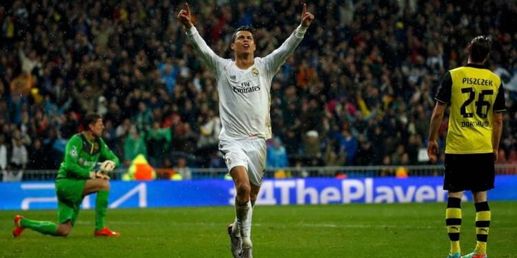 Ligue des champions: le Real Madrid a un pied en demi-finales