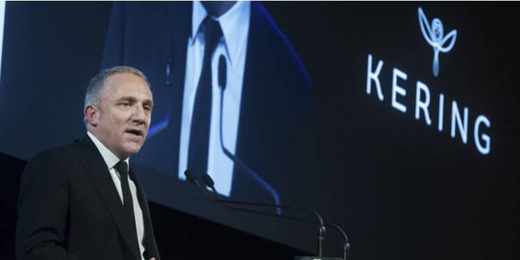 François-Henri Pinault engrange près de 3 millions d'euros de plus-values