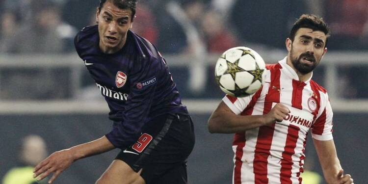 Football: Marouane Chamakh quitte Arsenal pour Crystal Palace