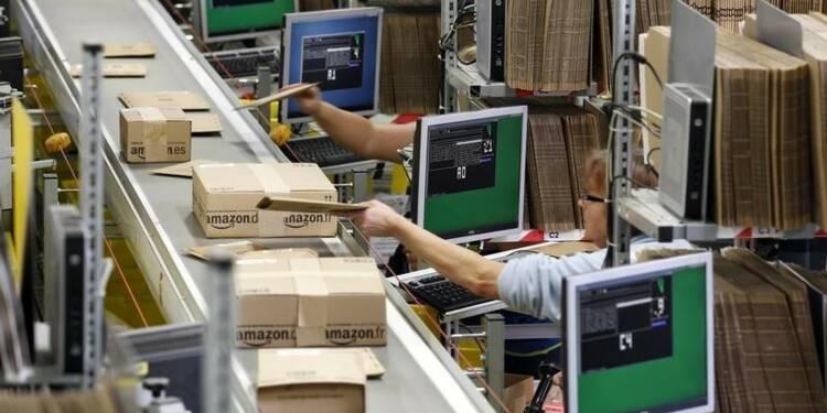 Grève dans un centre de distribution d'Amazon en Allemagne
