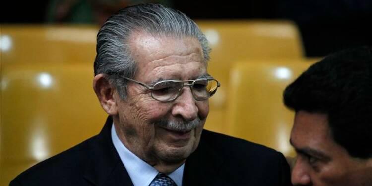 Rios Montt reconnu coupable de génocide au Guatemala