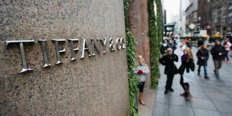 Tiffany relève sa prévision de bénéfice avec ses ventes en Chine