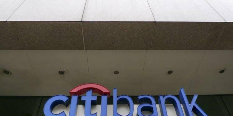 Citigroup fait moins bien que prévu au 3e trimestre