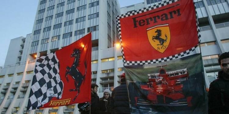 Schumacher, sorti du coma, a quitté Grenoble pour Lausanne