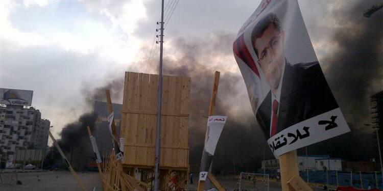 La police égyptienne intervient contre les campements pro-Morsi