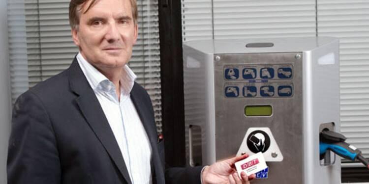 Les bornes électriques d'Hervé Borgoltz vont fleurir partout