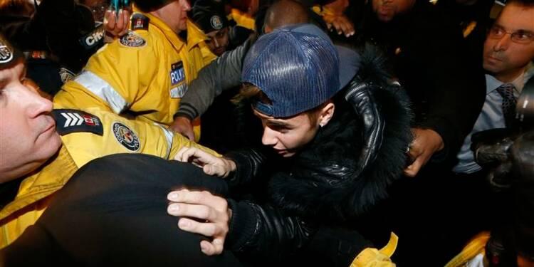 Justin Bieber entendu par la police de Toronto