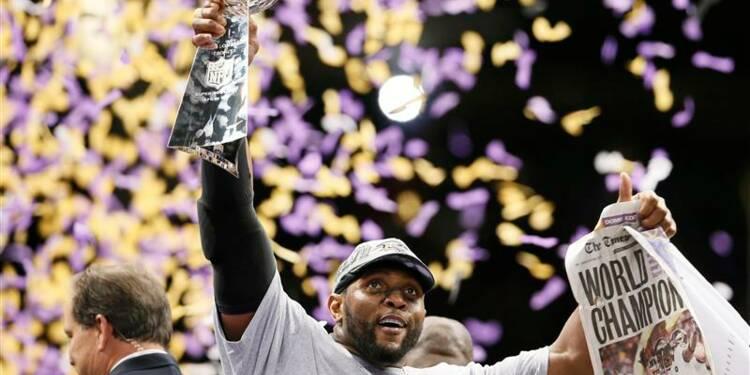 NFL: les Baltimore Ravens remportent le Super Bowl