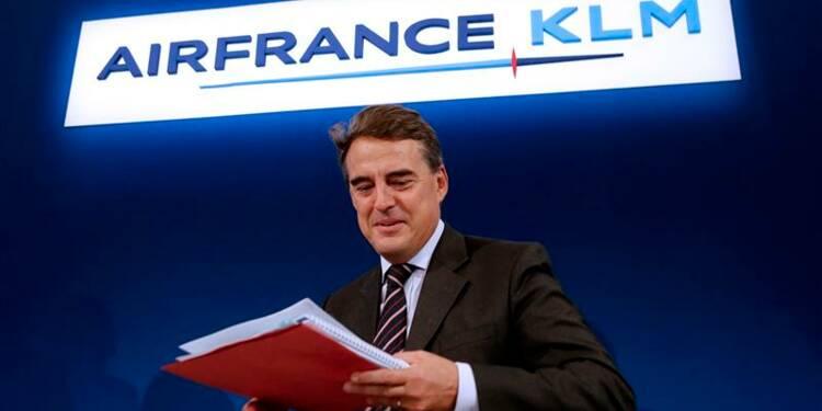Air France-KLM a nettement réduit sa perte au 1er semestre