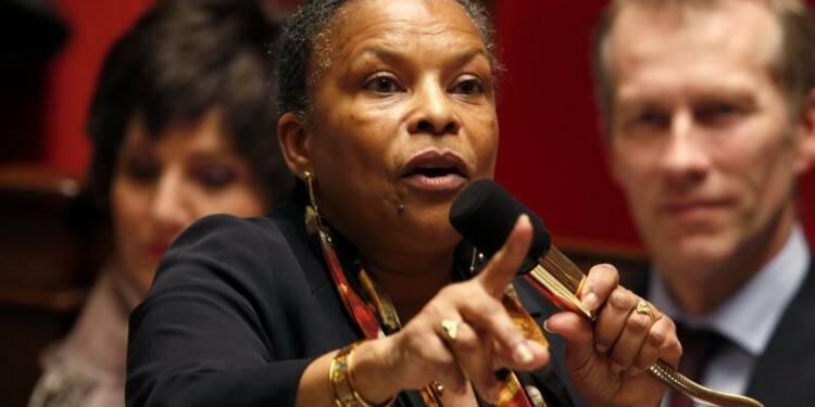 Une plainte visant Christiane Taubira jugée recevable