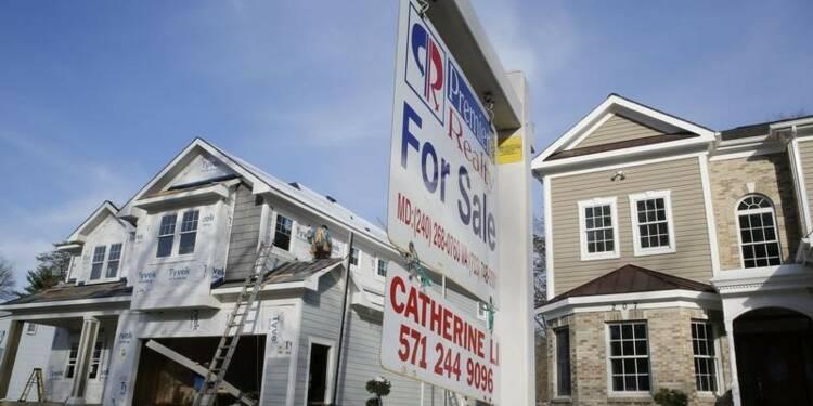 Les ventes de logements neufs au plus haut en six ans aux Etats-Unis