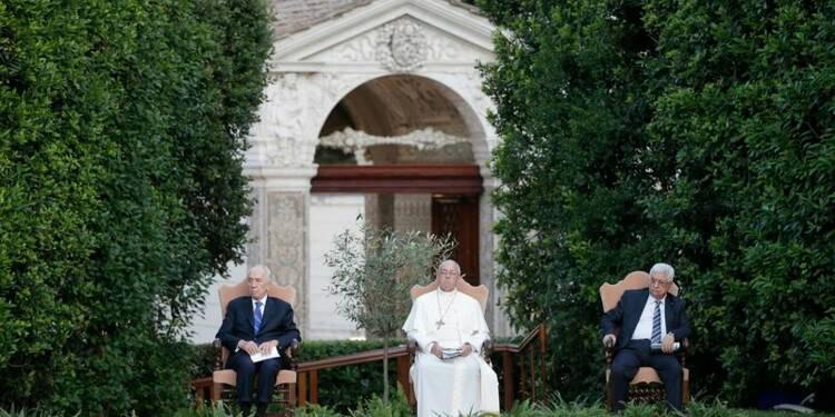Le pape appelle à persévérer dans le dialogue au Proche-Orient