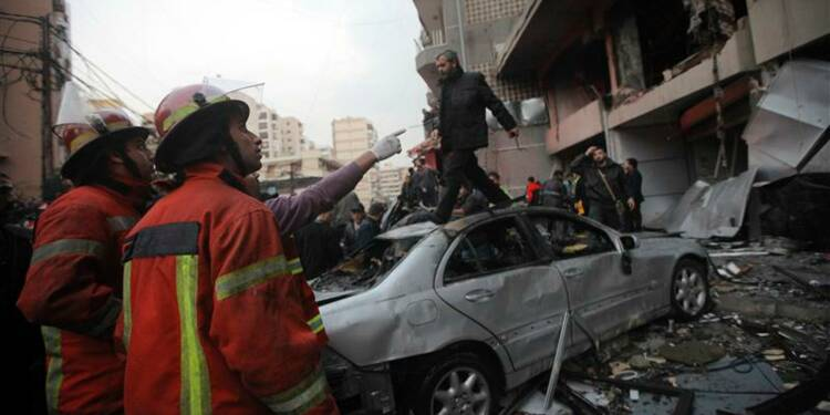 Une explosion fait deux morts dans le sud de Beyrouth