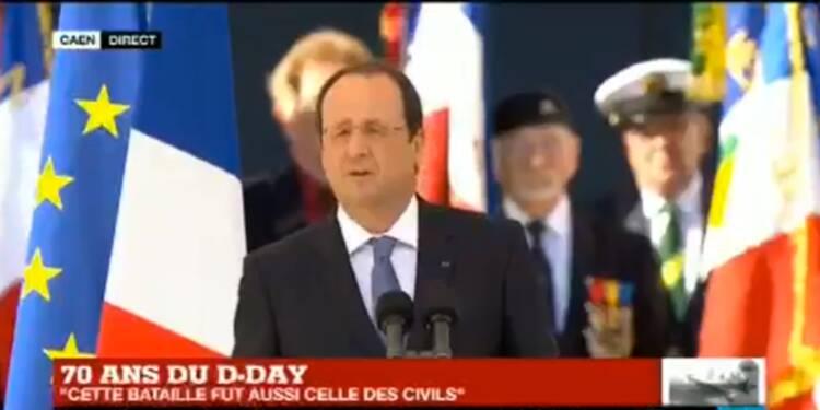 Suivez en direct les célébrations du 70ème anniversaire du débarquement en Normandie
