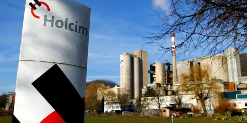 Holcim publie des résultats trimestriels en hausse