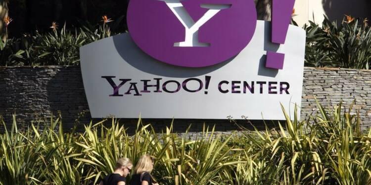 Le chiffre d'affaires de Yahoo en hausse au quatrième trimestre