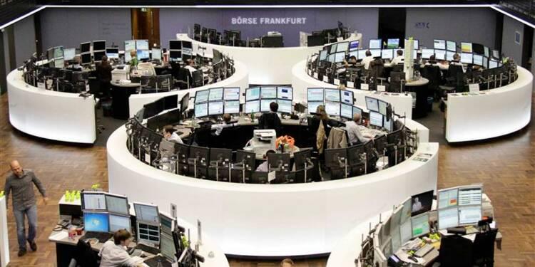 Les Bourses européennes en petite baisse à mi-séance