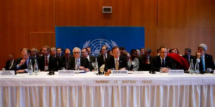 Querelle autour du sort d'Assad à l'ouverture de Genève II