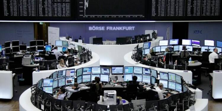 Les Bourses européennes stables la mi-séance