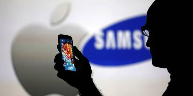 Un jury américain octroie 290,45 millions à Apple contre Samsung