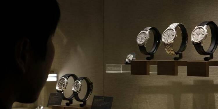 Hausse de 9% des ventes de Richemont sur cinq mois