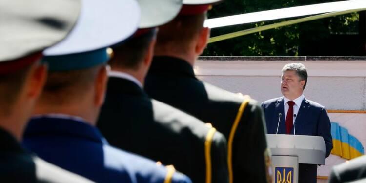 Le président ukrainien propose un cessez-le-feu