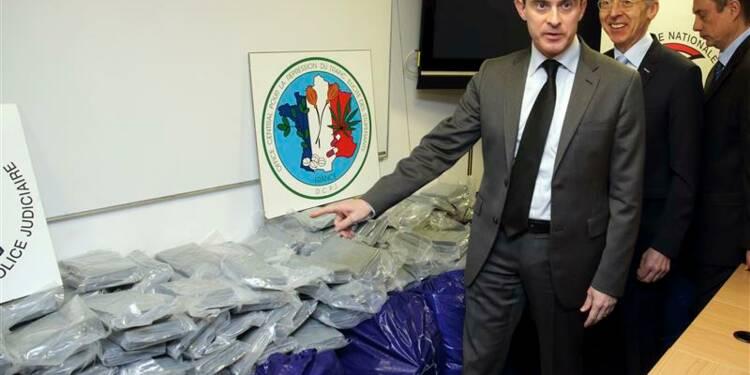Saisie record de 1,4 tonne de cocaïne dans le port du Havre