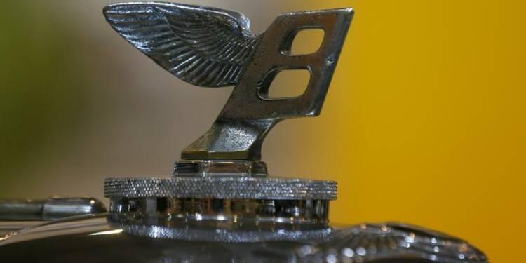 Ventes record pour Bentley en 2013 grâce aux Etats-Unis