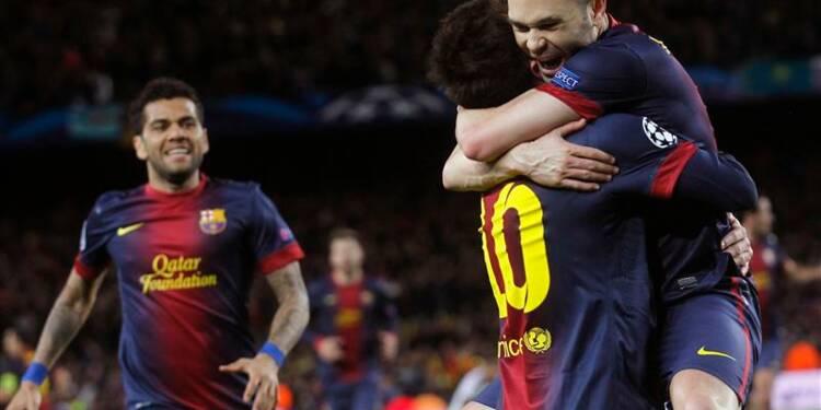 Ligue des champions: le Barça renversant, Galatasaray aussi