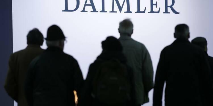 Daimler va placer 7,5% d'EADS sur le marché