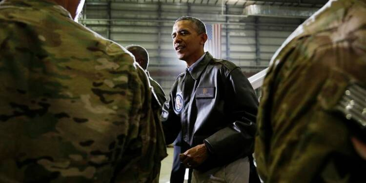 Visite surprise de Barack Obama en Afghanistan