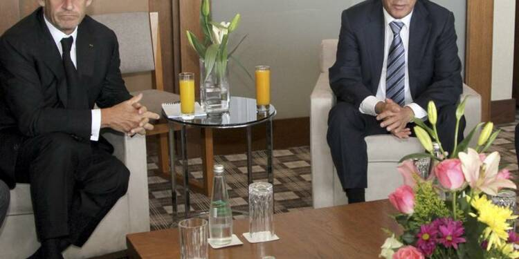 Nicolas Sarkozy est en Libye