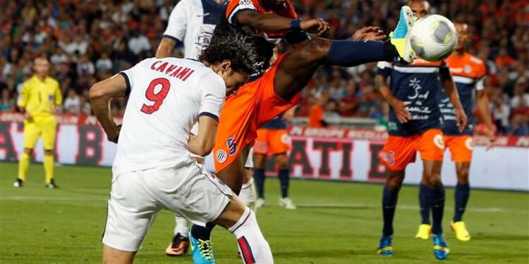 Ligue 1: le PSG commence par un match nul 1-1 à Montpellier