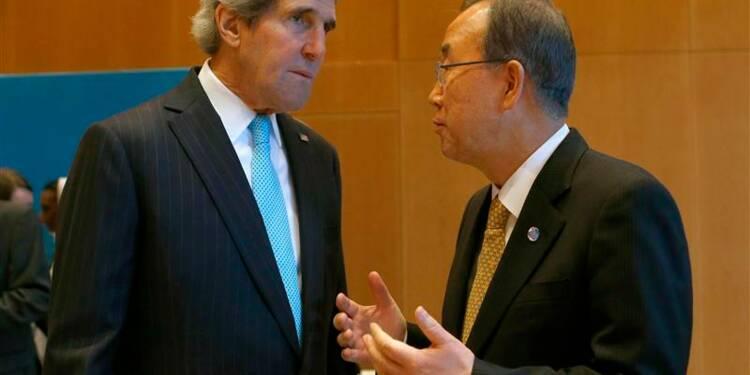 Ban Ki-moon veut un accès humanitaire immédiat et total en Syrie