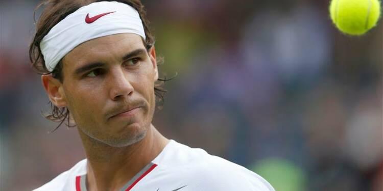 Wimbledon: élimination surprise de Rafael Nadal au premier tour