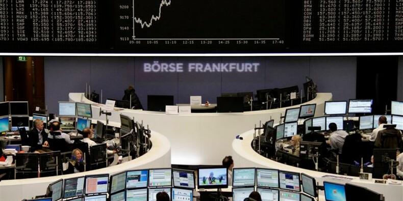 Les Bourses européennes accentuent leur rebond à mi-séance