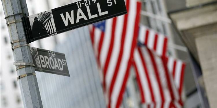 Le Dow Jones à plus de 14.000 points, rassuré sur l'économie