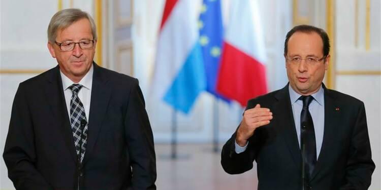 Hollande et Juncker veulent un front commun face à Mittal