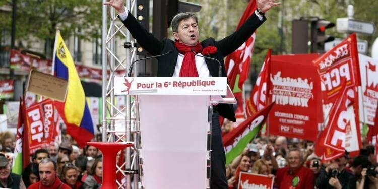 Le PS juge irresponsable le discours de Jean-Luc Mélenchon